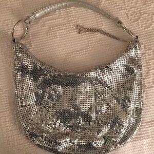 Silver Mesh Bag